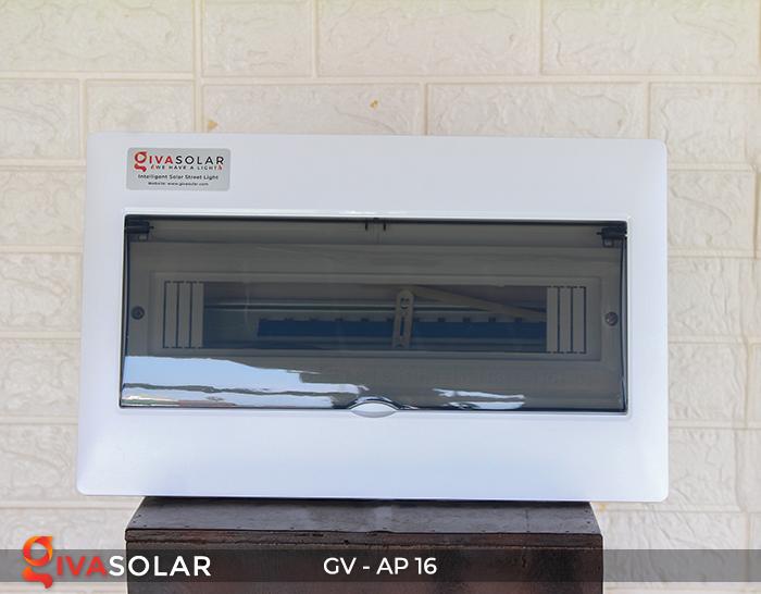 Tủ điện âm tường 16 đường cho hệ thống điện mặt trời AP-16 1