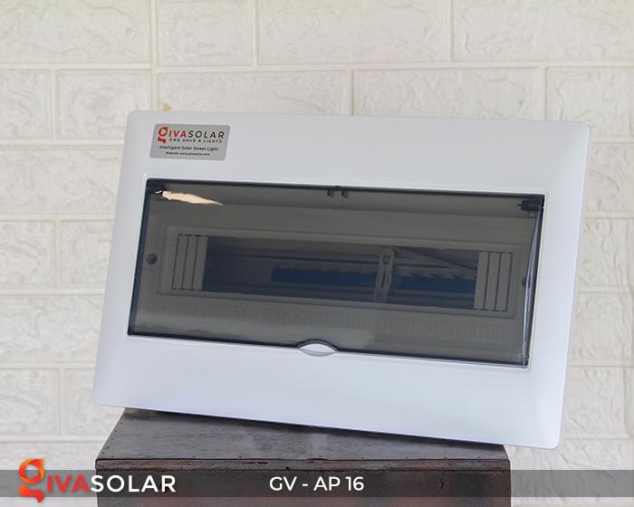 Tủ điện âm tường 16 đường cho hệ thống điện mặt trời AP-16 2