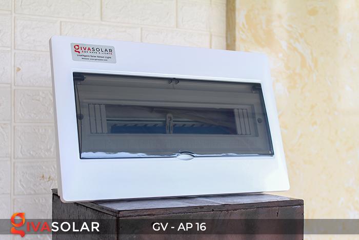 Tủ điện âm tường 16 đường cho hệ thống điện mặt trời AP-16 4