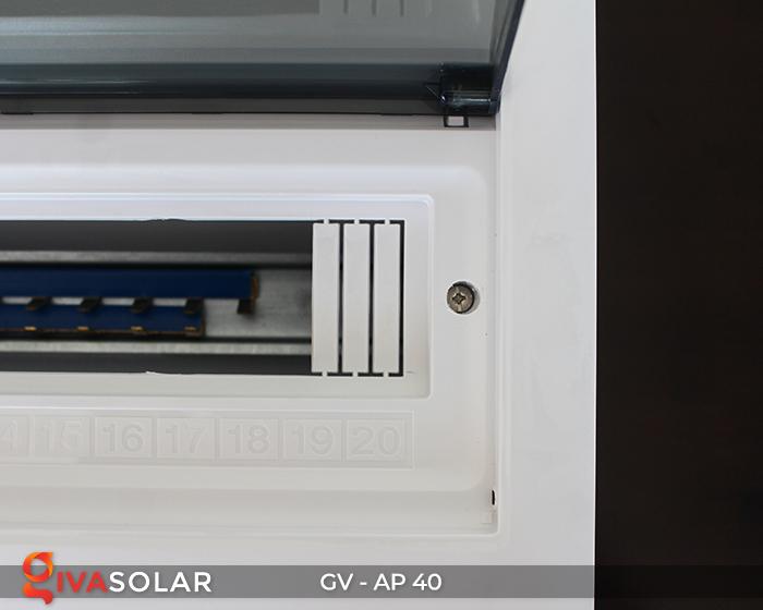 Tủ điện cho hệ thống điện mặt trời AP-40 way 9