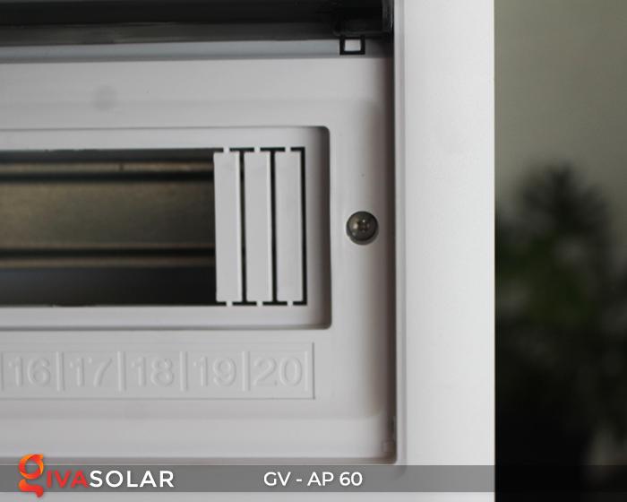 Tủ điện dùng cho hệ thống năng lượng mặt trời AP-60 đường 6
