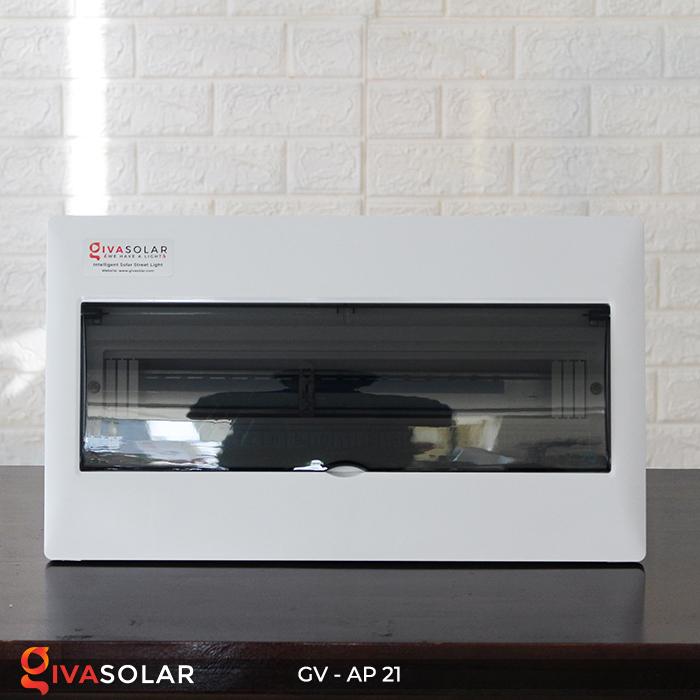 Tủ điện âm tường sử dụng trong hệ thống năng lượng mặt trời AP-21 đường 1