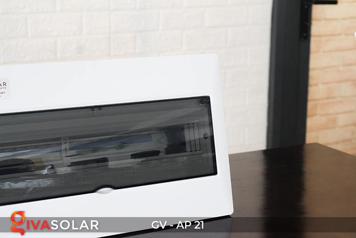 Tủ điện âm tường sử dụng trong hệ thống năng lượng mặt trời AP-21 đường 4