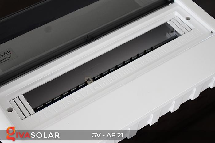 Tủ điện âm tường sử dụng trong hệ thống năng lượng mặt trời AP-21 đường 5