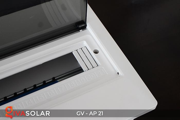 Tủ điện âm tường sử dụng trong hệ thống năng lượng mặt trời AP-21 đường 6