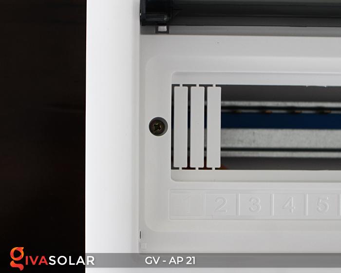 Tủ điện âm tường sử dụng trong hệ thống năng lượng mặt trời AP-21 đường 7