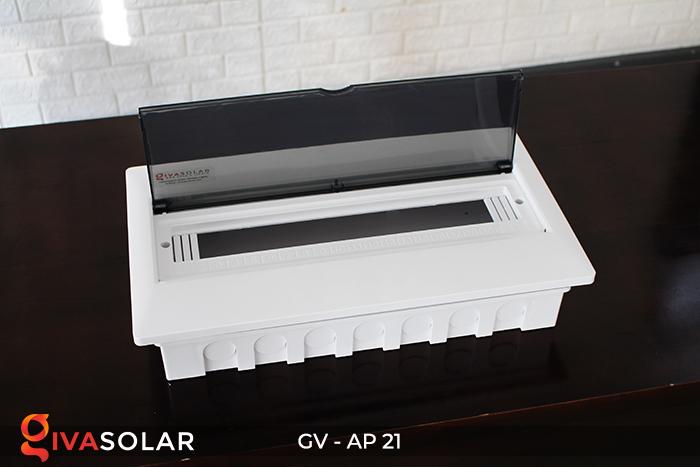 Tủ điện âm tường sử dụng trong hệ thống năng lượng mặt trời AP-21 đường 9