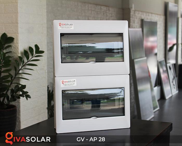 Tủ điện năng lượng mặt trời âm tường AP-28 way 11
