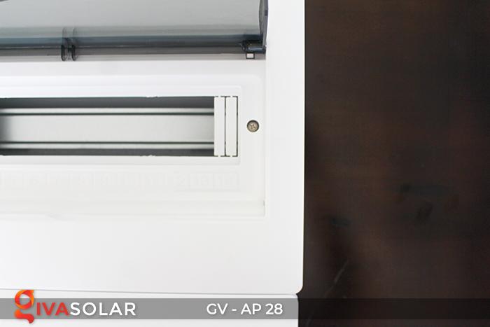 Tủ điện năng lượng mặt trời âm tường AP-28 way 3