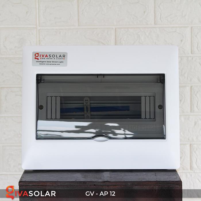 Tủ điện năng lượng mặt trời âm tường 12 đường AP-12 1