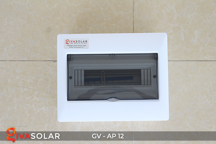Tủ điện năng lượng mặt trời âm tường 12 đường AP-12 3