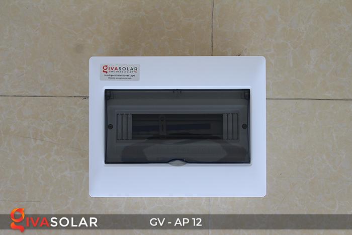 Tủ điện năng lượng mặt trời âm tường 12 đường AP-12 4