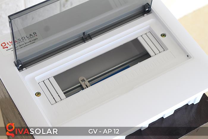 Tủ điện năng lượng mặt trời âm tường 12 đường AP-12 5