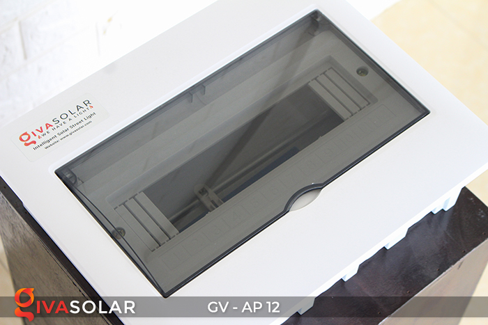 Tủ điện năng lượng mặt trời âm tường 12 đường AP-12 6