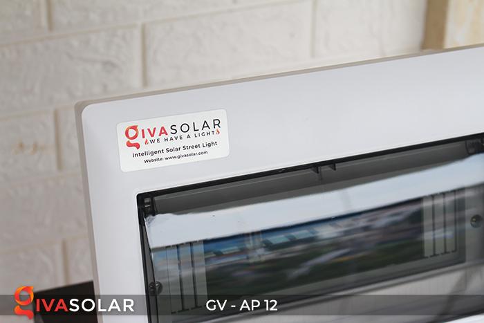 Tủ điện năng lượng mặt trời âm tường 12 đường AP-12 7