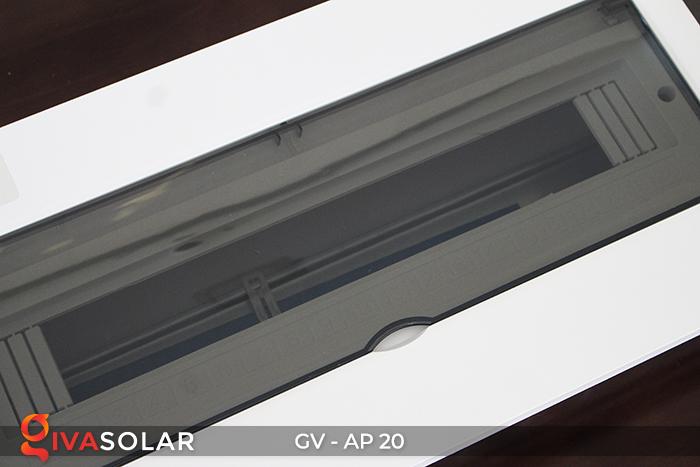 [Phụ kiện lắp đặt năng lượng mặt trời] Tủ điện âm tường 20 đường 7
