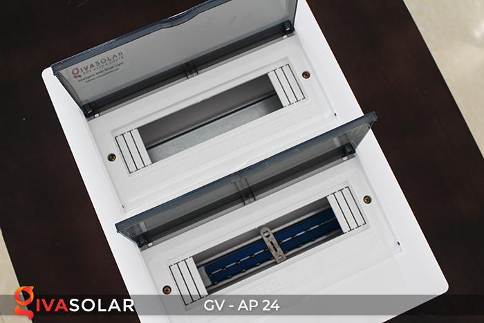 Tủ điện năng lượng mặt trời âm tường AP-24 đường 12