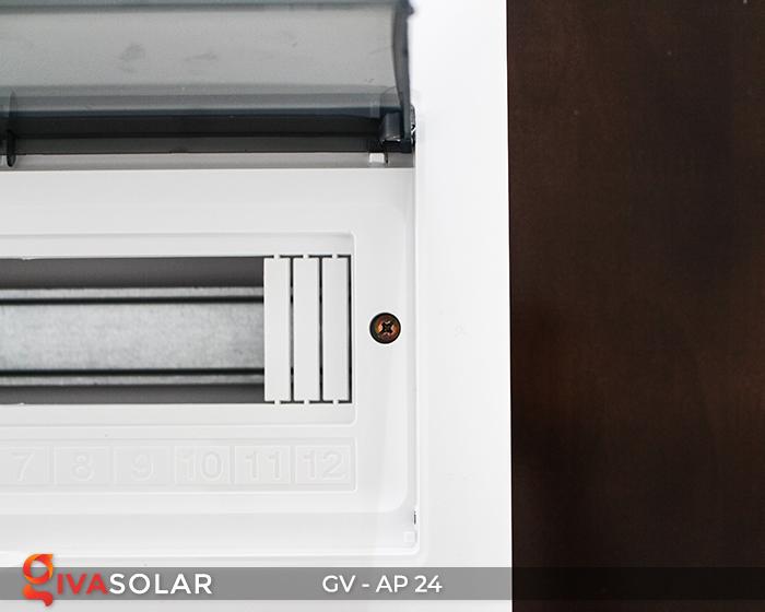 Tủ điện năng lượng mặt trời âm tường AP-24 đường 14