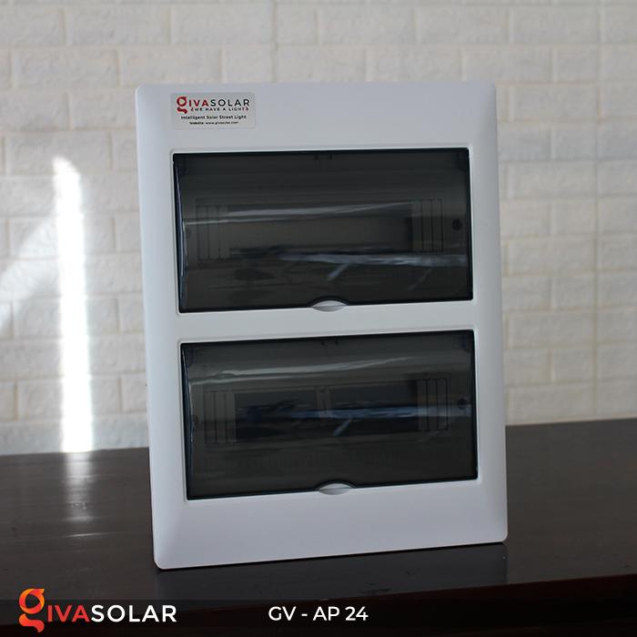 Tủ điện năng lượng mặt trời âm tường AP-24 đường 3