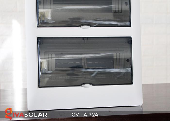 Tủ điện năng lượng mặt trời âm tường AP-24 đường 5