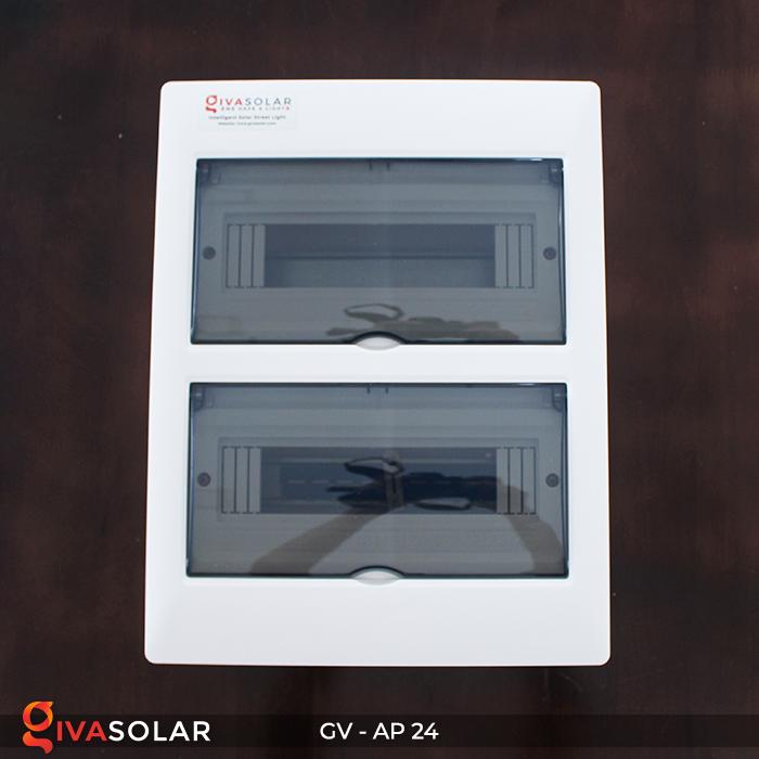 Tủ điện năng lượng mặt trời âm tường AP-24 đường 7