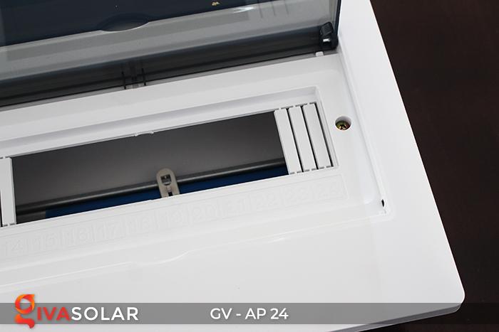 Tủ điện năng lượng mặt trời âm tường AP-24 đường 8