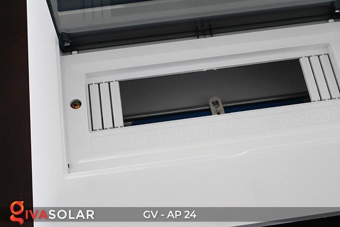 Tủ điện năng lượng mặt trời âm tường AP-24 đường 9