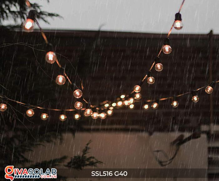 Dây đèn bóng led chạy bằng năng lượng mặt trời SSL516 26