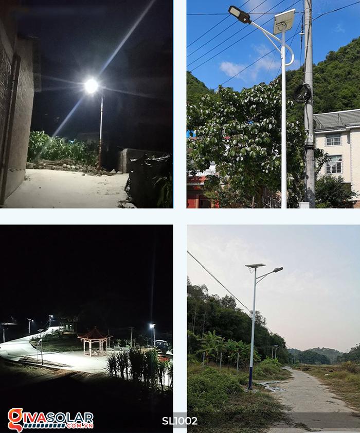 Đèn đường chạy bằng năng lượng mặt trời SL1002 12