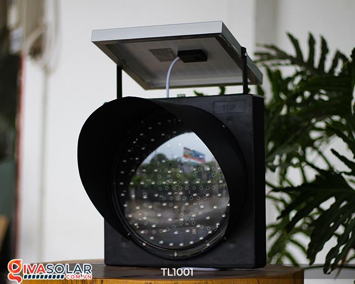 Đèn giao thông năng lượng mặt trời cảnh báo đi chậm TL1001 12