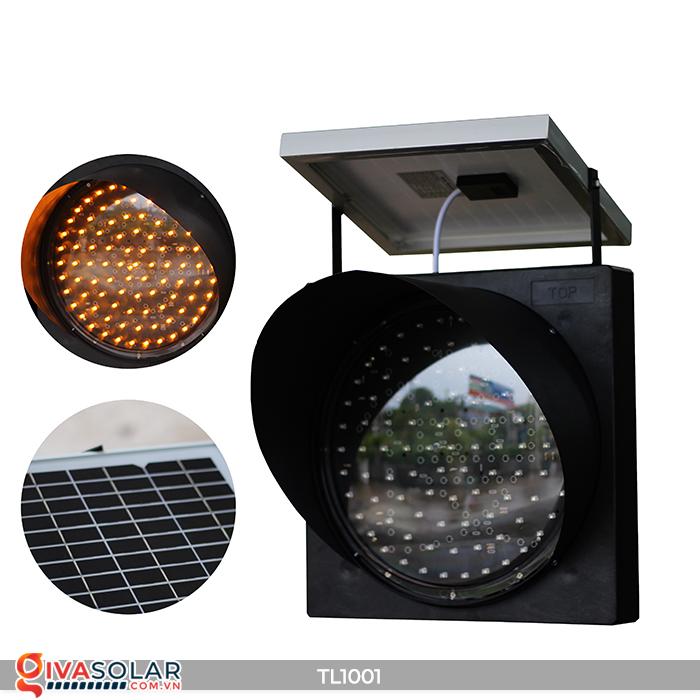 Đèn giao thông năng lượng mặt trời cảnh báo đi chậm TL1001 13