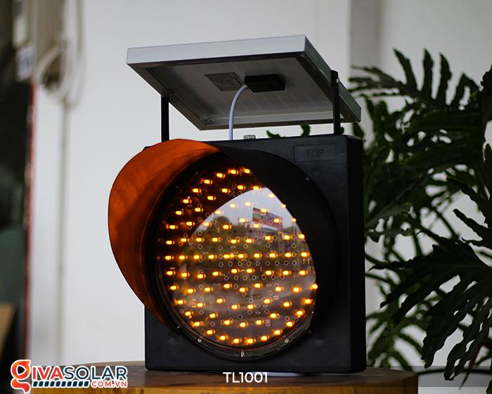 Đèn giao thông năng lượng mặt trời cảnh báo đi chậm TL1001 14