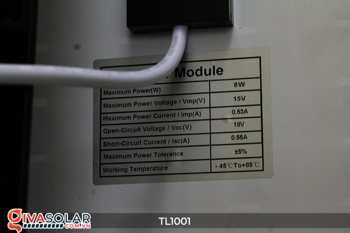Đèn giao thông năng lượng mặt trời cảnh báo đi chậm TL1001 16
