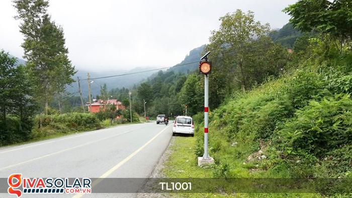 Đèn giao thông năng lượng mặt trời cảnh báo đi chậm TL1001 20
