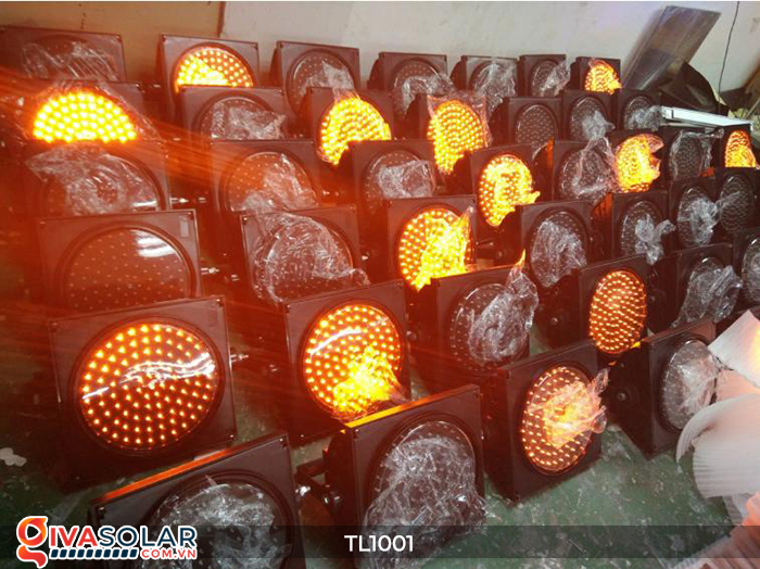 Đèn giao thông năng lượng mặt trời cảnh báo đi chậm TL1001 21
