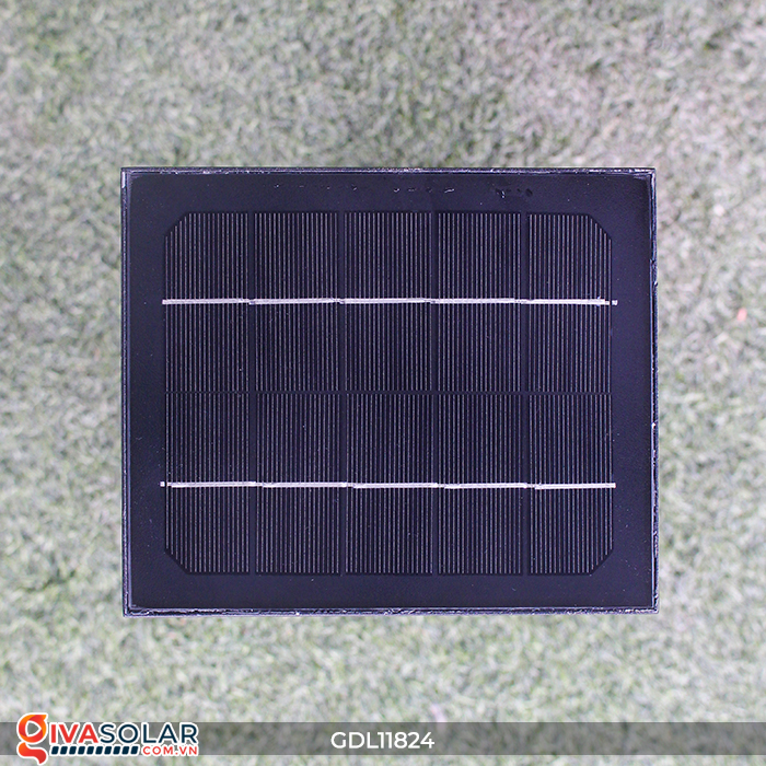 Đèn trụ sân vườn tích hợp pin năng lượng mặt trời GDL11824 11
