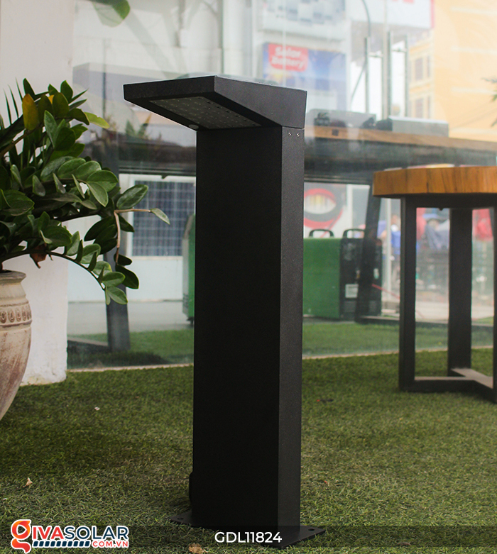 Đèn trụ sân vườn tích hợp pin năng lượng mặt trời GDL11824 14