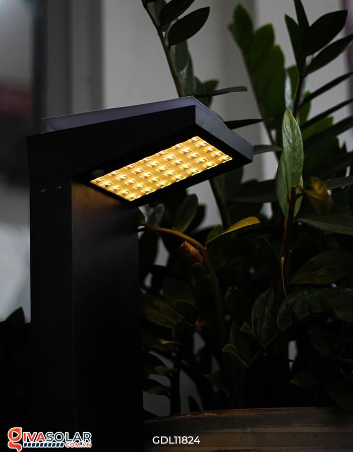 Đèn trụ sân vườn tích hợp pin năng lượng mặt trời GDL11824 18