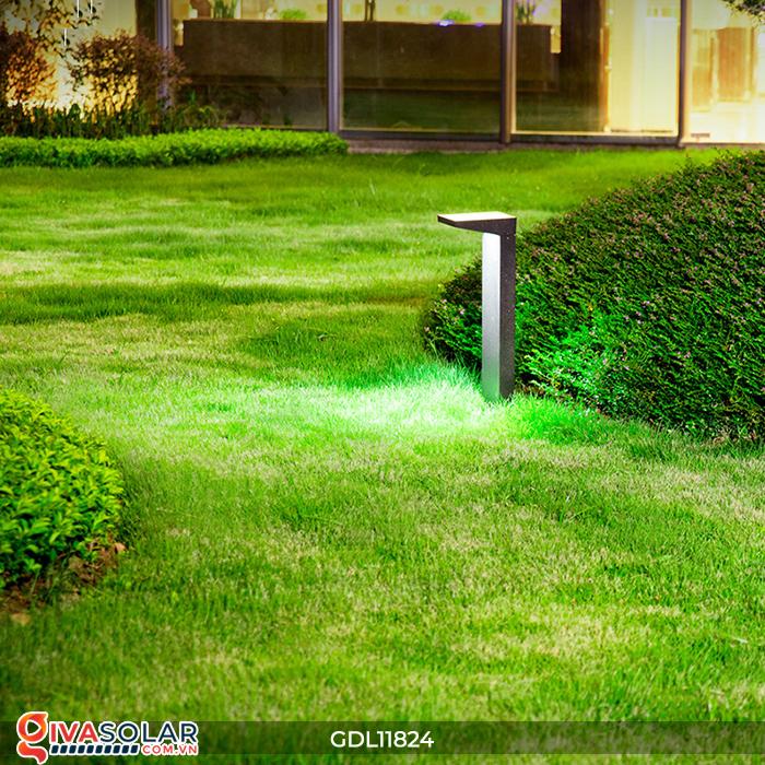 Đèn trụ sân vườn tích hợp pin năng lượng mặt trời GDL11824 2