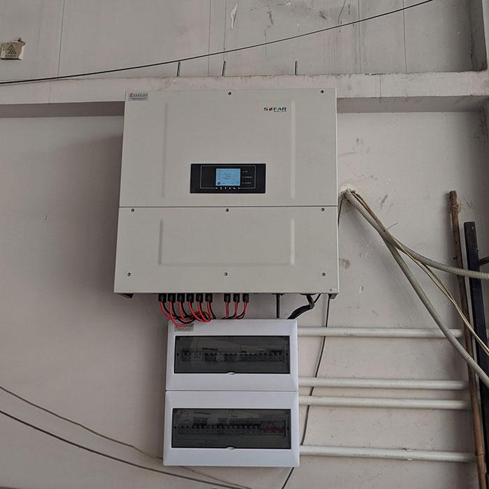 Dự án điện mặt trời áp mái nhà trọ tổng công suất 57 kWp tại Tân Phú HCM 10