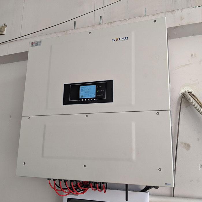 Dự án điện mặt trời áp mái nhà trọ tổng công suất 57 kWp tại Tân Phú HCM 11