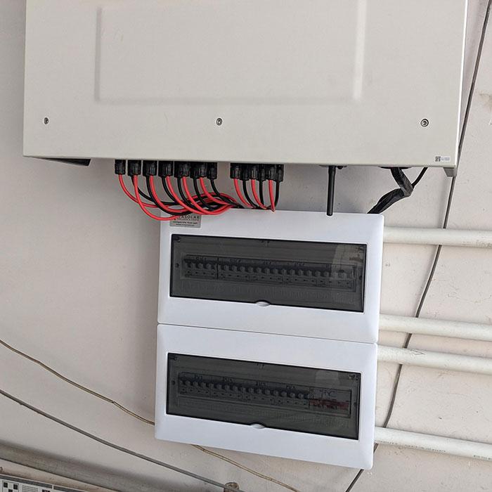 Dự án điện mặt trời áp mái nhà trọ tổng công suất 57 kWp tại Tân Phú HCM 12