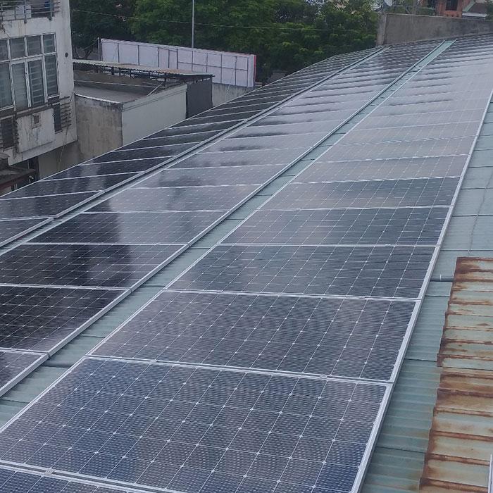 Dự án điện mặt trời áp mái nhà trọ tổng công suất 57 kWp tại Tân Phú HCM 3