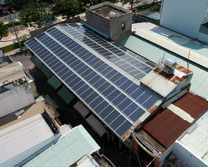 Dự án điện mặt trời áp mái nhà trọ tổng công suất 57 kWp tại Tân Phú HCM 6