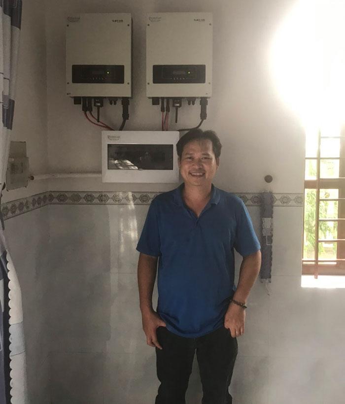 Hoàn thành hệ thống năng lượng mặt trời 12kW tại tỉnh Bà Rịa - Vũng Tàu 7