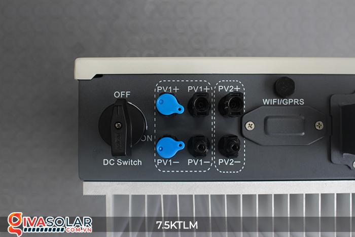 Inverter cho hệ thống điện năng lượng mặt trời hòa lưới Sofar 7.5KTLM 8