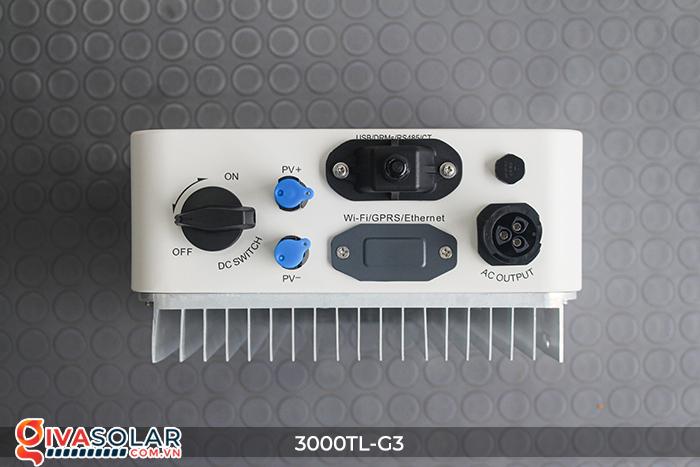 Inverter hòa lưới cho hệ thống điện mặt trời 3000TL-G3 12