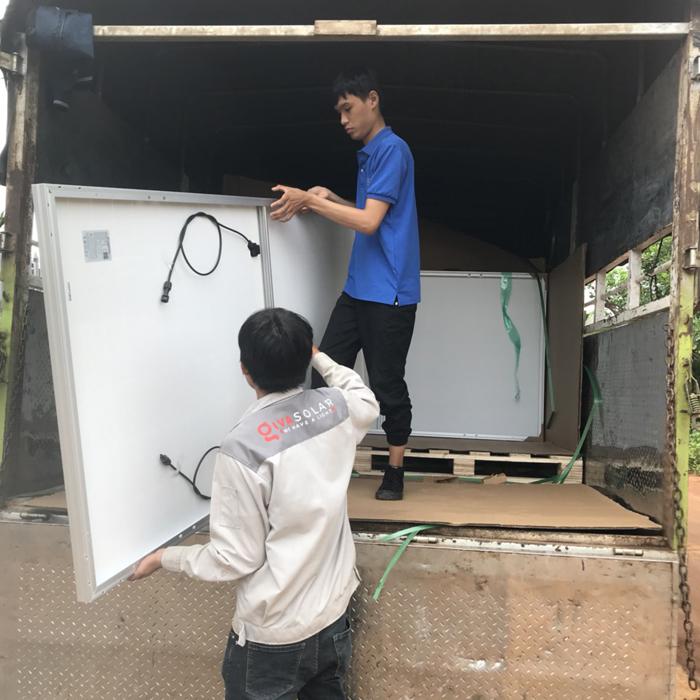 Hoàn thành lắp đặt hệ thống điện mặt trời áp mái quy mô lớn 45kWp tại Đắk Nông 1