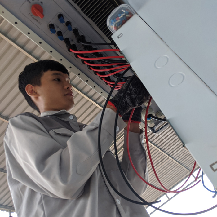 Hoàn thành lắp đặt hệ thống điện mặt trời áp mái quy mô lớn 45kWp tại Đắk Nông 13