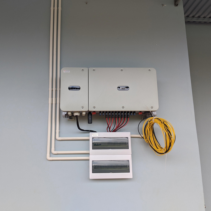 Hoàn thành lắp đặt hệ thống điện mặt trời áp mái quy mô lớn 45kWp tại Đắk Nông 15